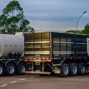 Distribuidor de carretas rodoviárias