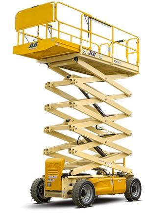 plataformas elevatórias tesoura