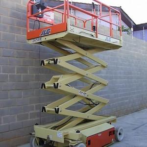 Aluguel de plataforma para trabalho em altura
