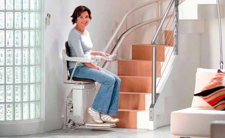 cadeira elétrica para escada