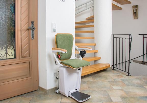 cadeira escaladora de escada