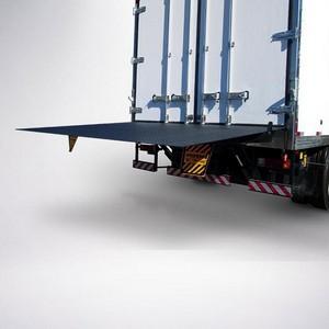 Plataforma hidráulica para caminhão baú
