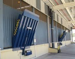Plataformas niveladoras eletro hidráulica de doca